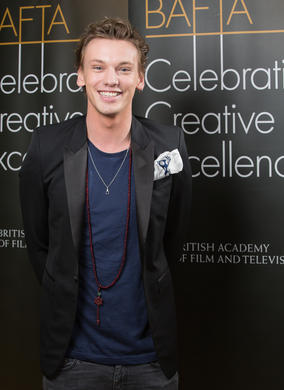 Actor Jamie Campbell Bower at the Peninsula Hong Kong.