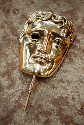The Masks are polished by a process using shot blasting with steel (BAFTA / Marc Hoberman).
