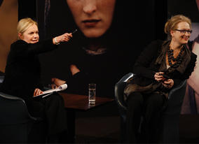 Mariella takes questions from the audience (BAFTA / Marc Hoberman).