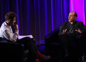 Armando Iannucci in conversation with Richard Bacon