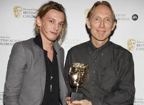 Winner of the Feature Film award for 'Coraline' with citation reader Jamie Campbell Bower.