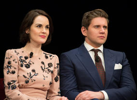 Michelle Dockery and Allen Leech