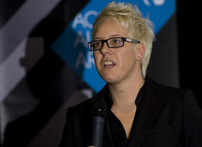 Lisa Nesbitt, Director of BAFTA Cymru at the Monsters screening. Pic: Jon Pountney