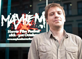 Monsters writer and director Gareth Edwards outside the Nottingham Broadway Theatre. (Pic: BAFTA/Camille Sales)