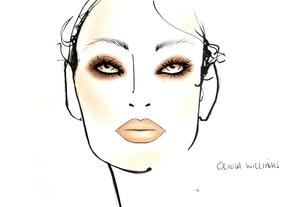 Olivia Williams - 2011 Face Chart
