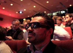 New for 2010 - Digital Cinema Projection now screens in 3D
