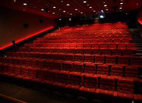 View of the purpose-built, 227 seat auditorium