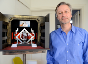 Peter Bingemann, set designer for the BAFTAs