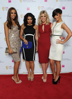 The girl group accepted the Performer BAFTA on behalf of Mark Hamill who won for his performance as The Joker in Batman: Arkham City.