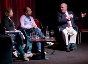 BAFTA Rocliffe New Writing Forum With Julian Fellowes