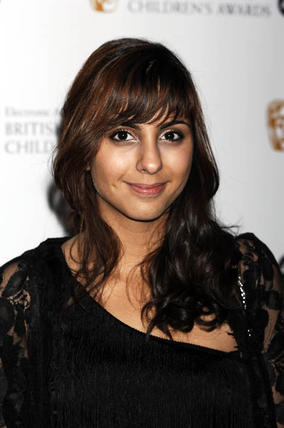 Sarah Jane Adventures actress Anjli Mohindra at the EA British Academy Children's Awards in 2008.