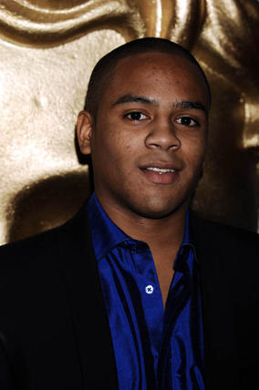 Sarah Jane Adventures actor Daniel Anthony at the EA British Academy Children's Awards in 2008.