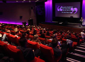 The Audience with Aline Brosh Mckenna. (Photography: Jay Brooks)