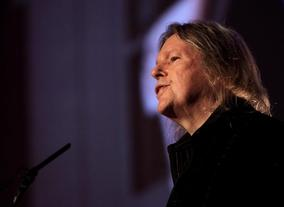 Christopher Hampton talks on his career and art of screenwriting for film . (Photography: Jay Brooks)