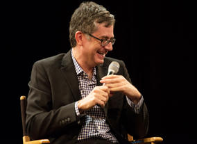 Greg Daniels, creator of The Office and Parks And Recreation chairs a BAFTA Rocliffe New Writing Forum at the New York Television Festival