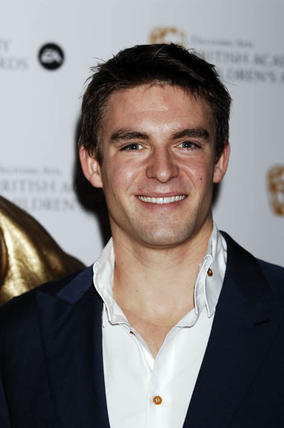 Holby City's Tom Chambers at the EA British Academy Children's Awards in 2008.