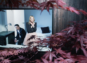 Dougray Scott and Natalie Press photographed for