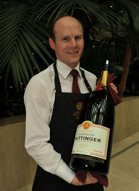 Taittinger at the Television Nominees Party 2012