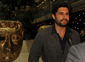 Kayvan Novak at the Television Nominee's Party 2012