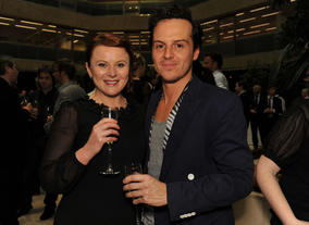 Andrew Scott at the Television Nominees Party 2012