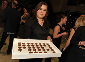 Waitress at the Television Nominees Party 2012