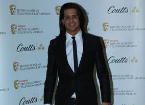 Made in Chelsea's Olly at the Television Nominees Party 2012