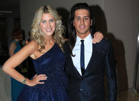 Made in Chelsea's Cheska and Olly at the Television Nominee's Party 2012