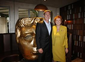 Cilla poses with Alistair Mailing, GM for Villa Maria who co-hosted the event