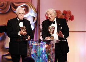 Special Award recipients David Croft and Jimmy Perry look back over a remarkable career that includes comedy classics as Dad's Army, It Aint Half Hot Mum and Hi-De-Hi! (pic: BAFTA / Richard Kendal).