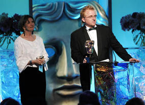 Jezza Neuman proved to be the night's star, picking up the Director Factual Award and the coveted Break-Through Talent Award for China's Stolen Children (pic: BAFTA / Richard Kendal).