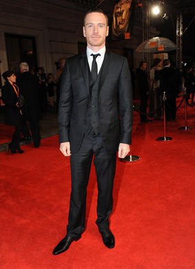 The German-Irish actor, pictured here in a suit by Armani, is nominated for his portrayal of a man struggling with sex addiction in Shame, his second collaboration with director Steve McQueen after Hunger.