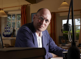 Screenwriter William Nicholson poses for the BAFTA and BFI Screenwriters' Lecture Series 2011.