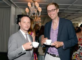 Writer/ Producer Noah Hawley and writer/ actor Stephen Merchant