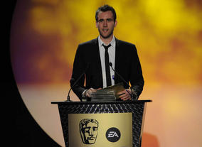 The Harry Potter actor and BAFTA YGD ambassador presents the inaugural prize. Pic: BAFTA/Steve Finn