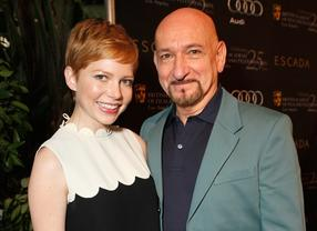 Michelle Williams and Sir Ben Kingsley