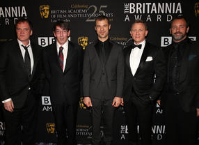 The Britannias in 2012: Honorees' Green Room