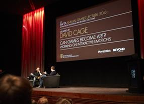 BAFTA Annual Games Lecture 2013: David Cage