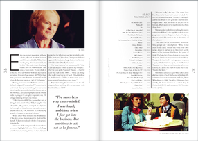 BAFTA TV Awards Brochure [Julie Walters Spread]