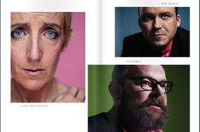 BAFTA TV Awards Brochure [Photo Shoot Spread]