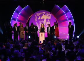 BAFTA TV Craft Awards Ceremon: Nikki Parsons accepts the Special Award