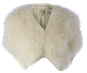BIBA Ivory Short Sleeved Stole £115