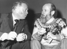 Christopher Nupen With Lord Attenborough