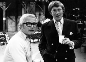 David Croft and Jimmy Perry pictured in 1973.