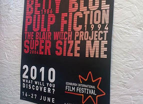 Edinburgh International Film Festival Poster 2010