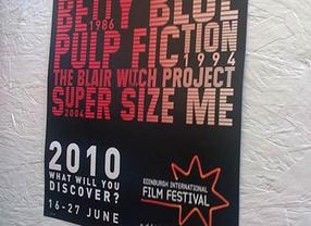 Edinburgh International Film Festival Poster 2010