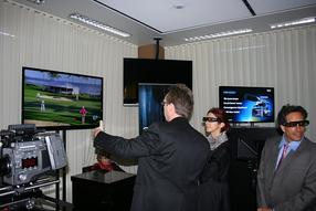 Sony 3D demonstration