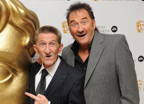 Chuckle Brothers - Paul & Barry arrive at the BAFTA Children's Awards 2008 ceremony