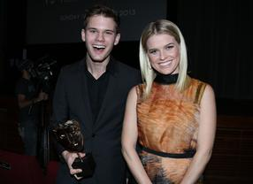 Jeremy Irvine & Alice Eve: Nominations Announcement