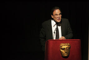 Oliver Stone delivers the David Lean Lecture in 2006.
