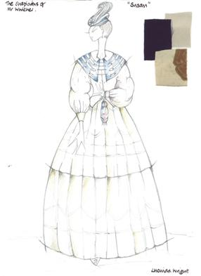 Suspicions Of Mr Whicher: Susan costume design sketch